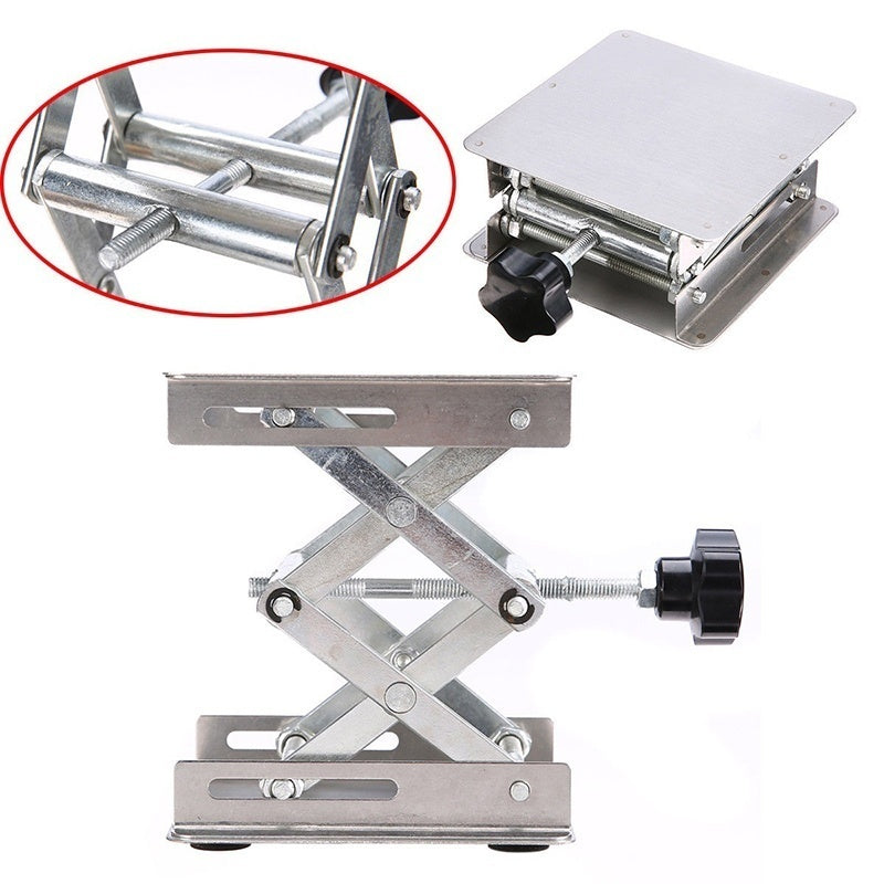 4x4'' - 100mm Steel Lab-Lift Lifting Platforms Lab Tool Jack Scissor Stand Rack