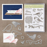 Bird Metal Cutting Dies and Stamps for Scrapbooking Practice Hands-on DIY Album Decoration Cards