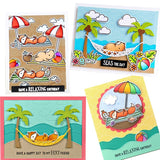 Beach Metal Embossing Cutting Dies and Stamps for Scrapbooking Hands-on DIY Album Decoration Card