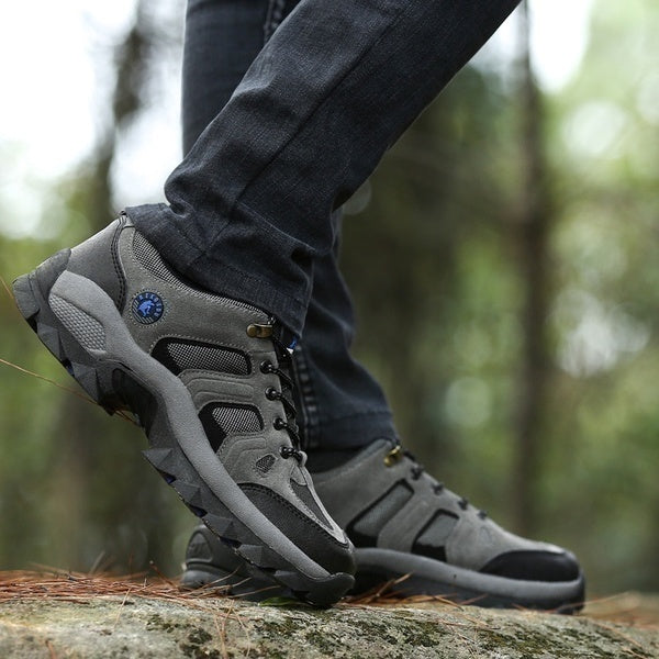 Men Women Hiking Shoes Outdoor Sneaker Fashion Boots Winter Waterproof Mountain Climbing Shoes for Men Women Sport Trekking Non-slip