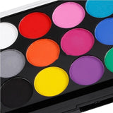 15 Colors Non-toxic Face & Body Paint Painting Make Up Party Art Kit suitable for Drama / Clown / Halloween Makeup / Face Color