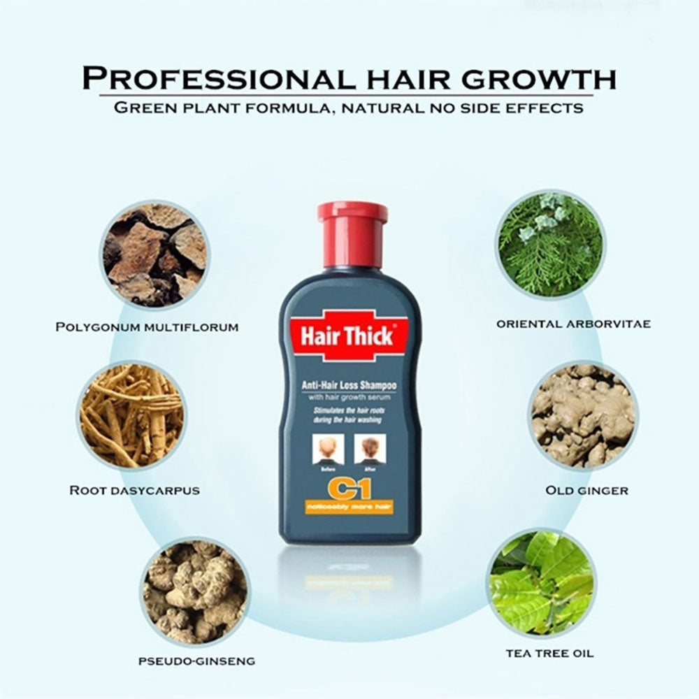 Natural Hair Growth Liquid Hairlos Anti Hair Loss Liquid Hair Growth Essence Herbs 100ml