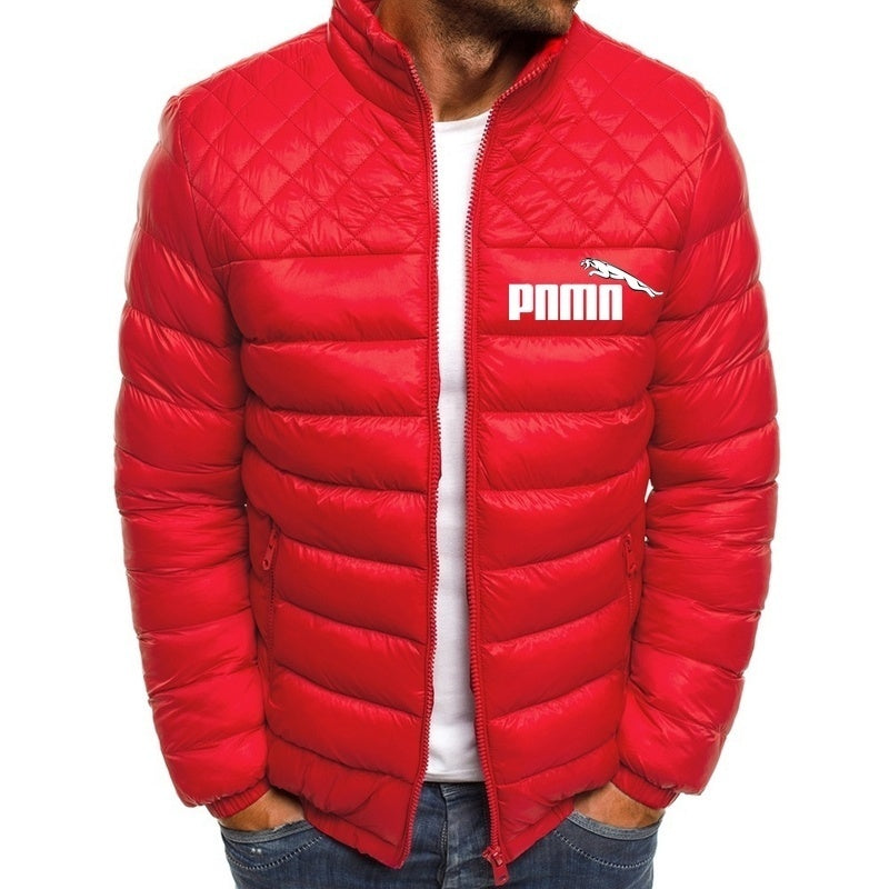 Autumn and Winter Casual Down Jackets for Men Warm Cotton Jackets