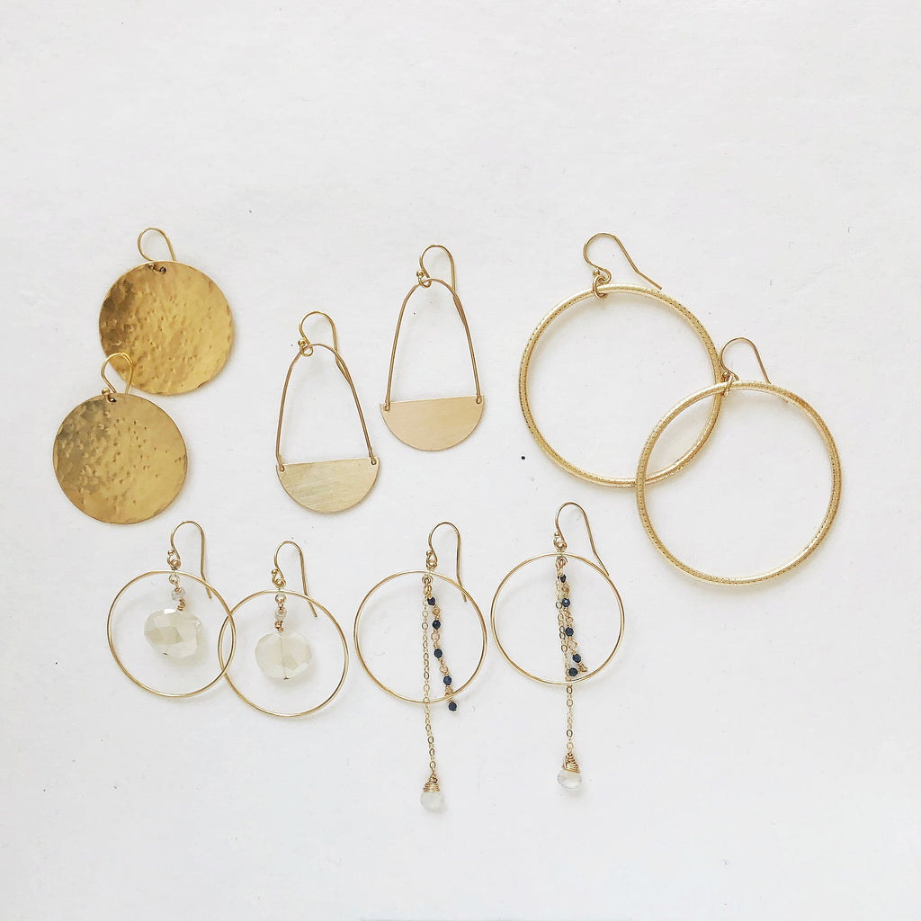 5 Pairs of Earrings to Rock on your Next Zoom Call!