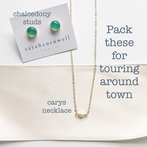jewelry to pack for a vacation