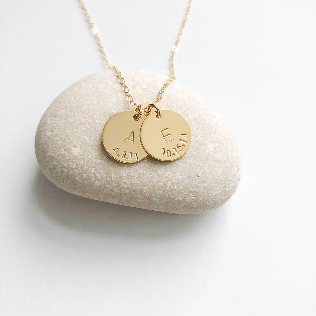 """Drew"" Personalized Necklace"