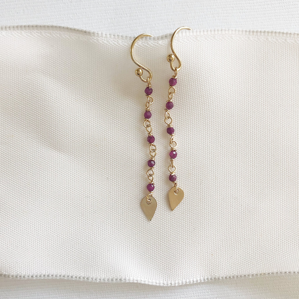 Delicate Dangle Earrings