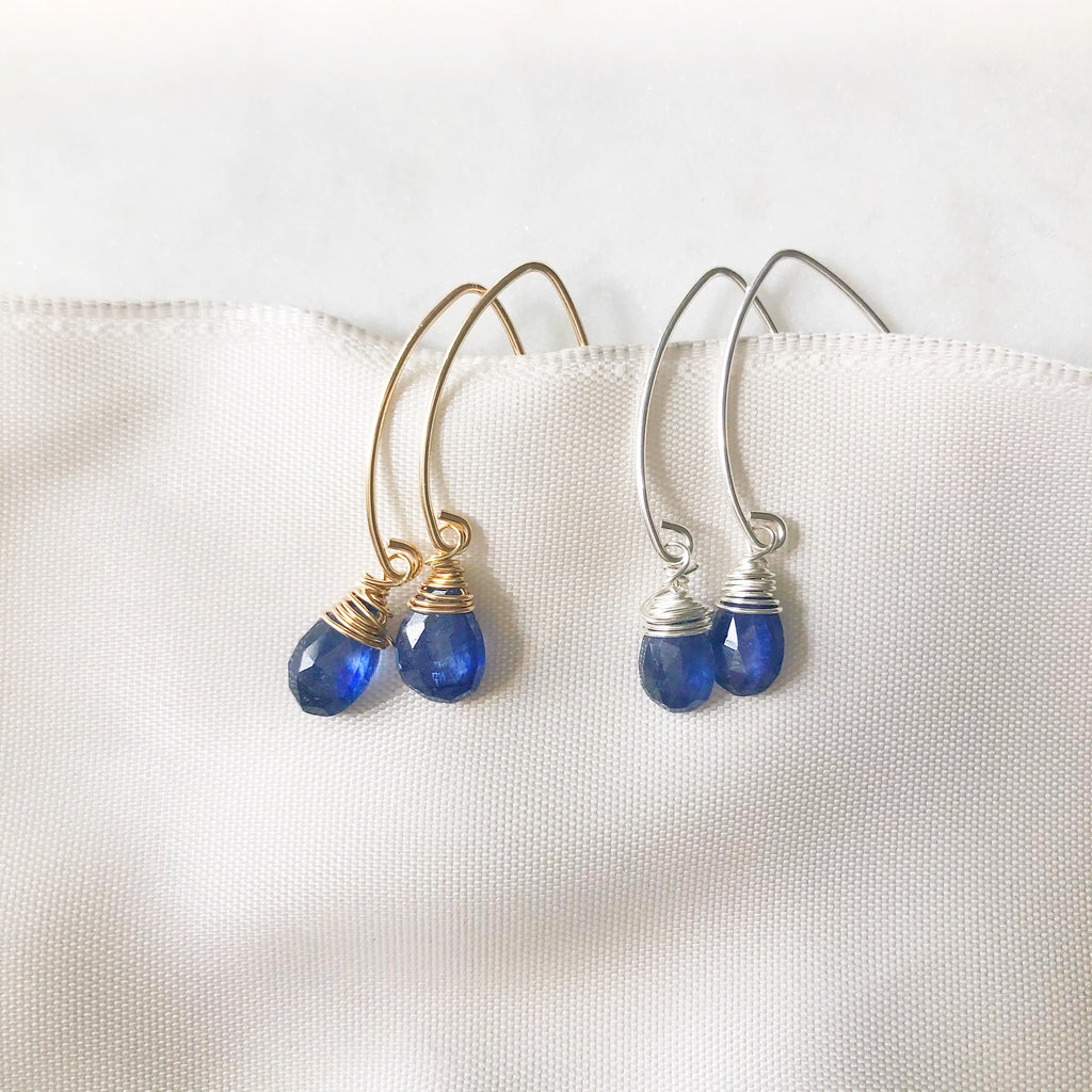 """Periwinkle"" Earrings"
