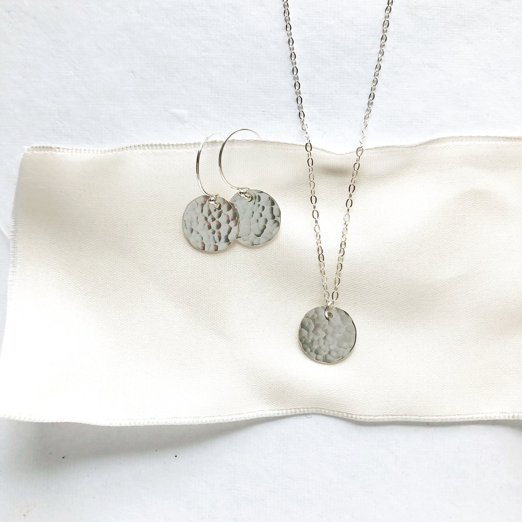 Jewelry Set in Silver