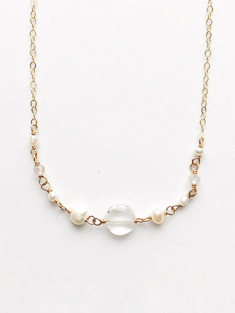 SALE! Dove White Necklace