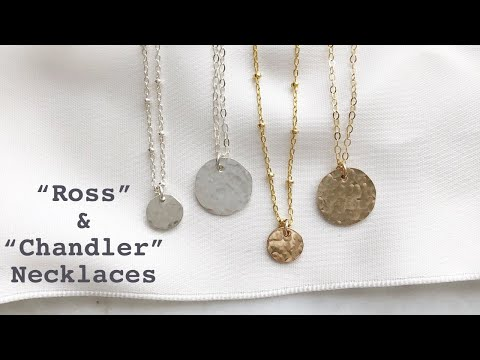 Hammered Necklaces