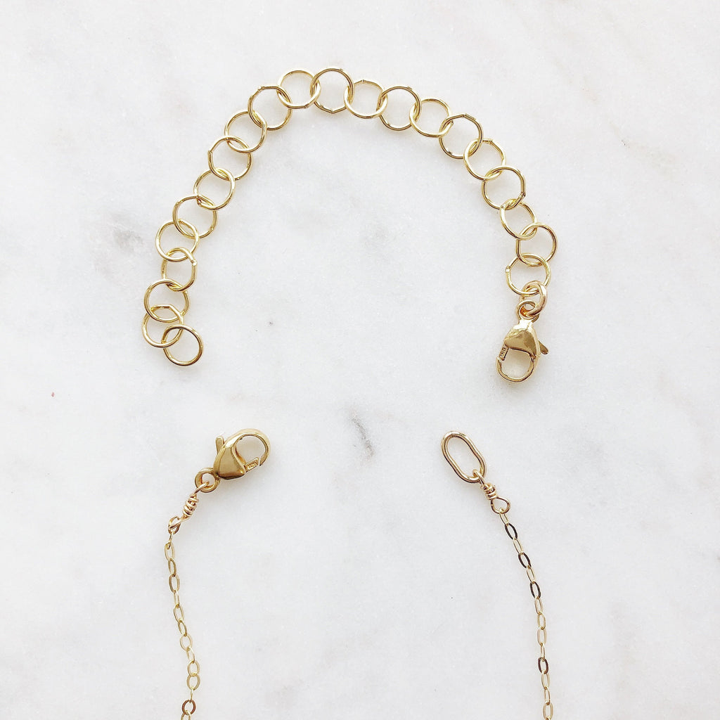4 inch gold necklace extender