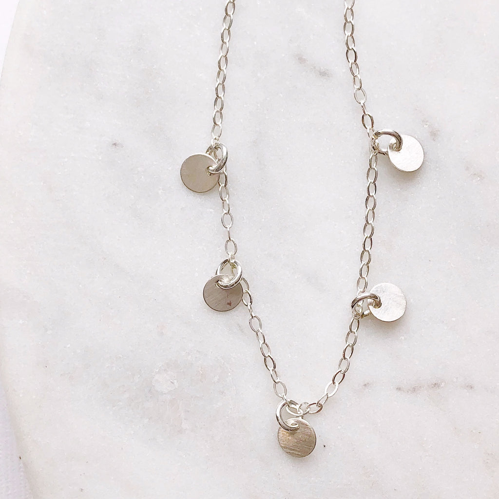 Dainty Silver Necklace