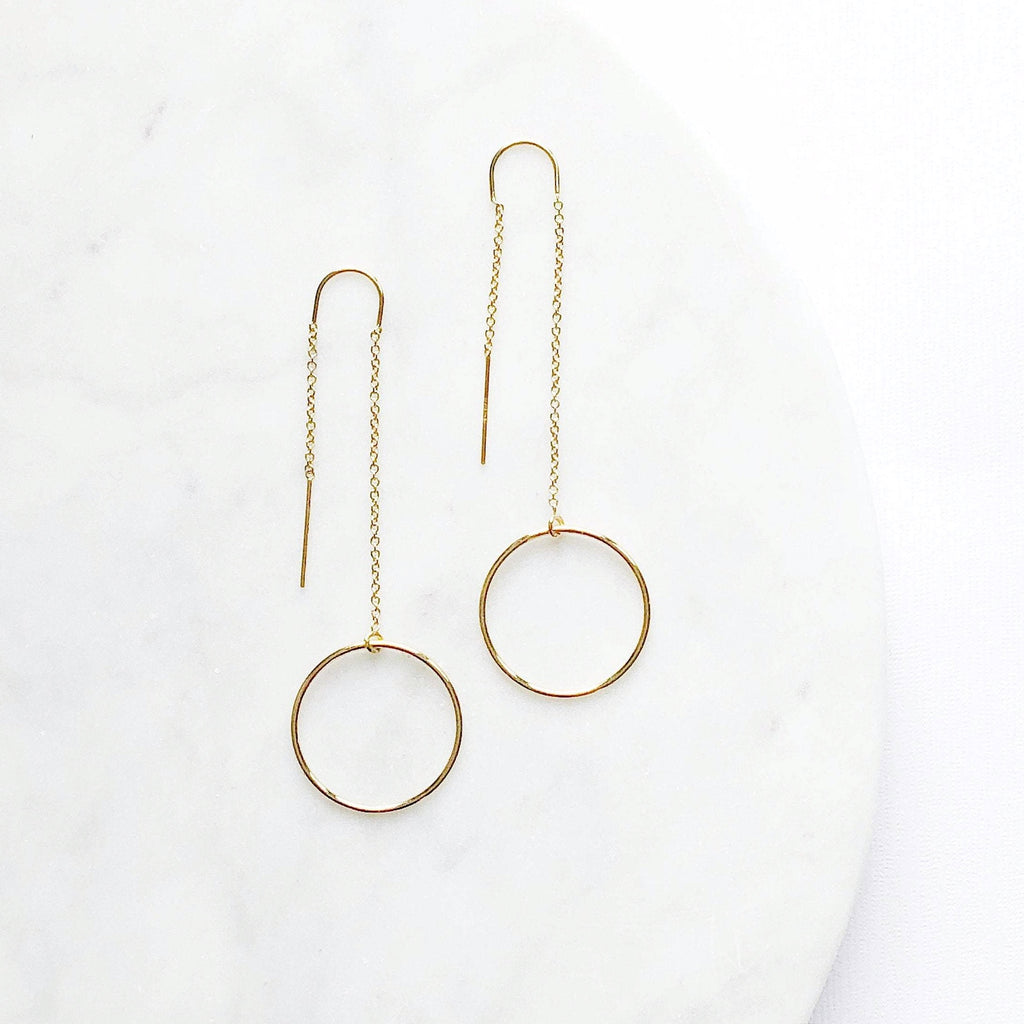 Gold Threader Earring