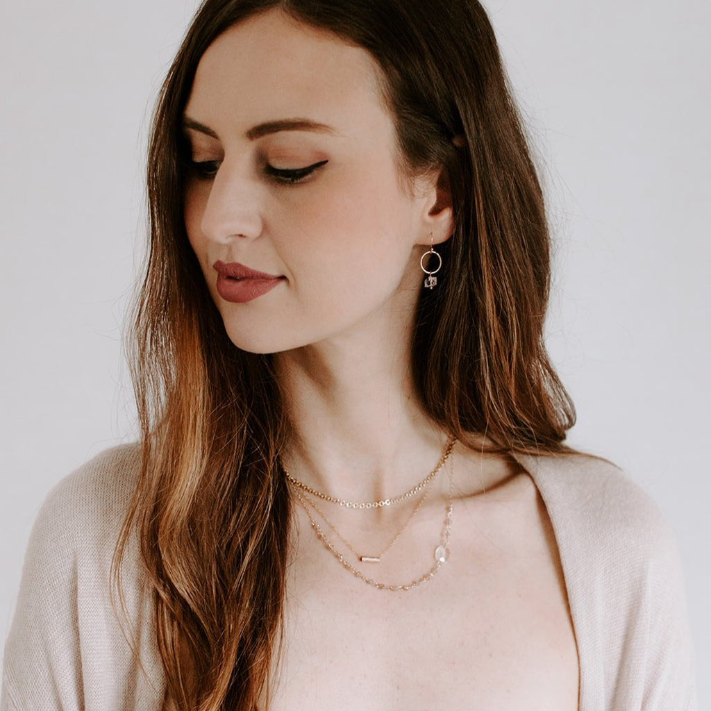 Gold Layering Necklaces