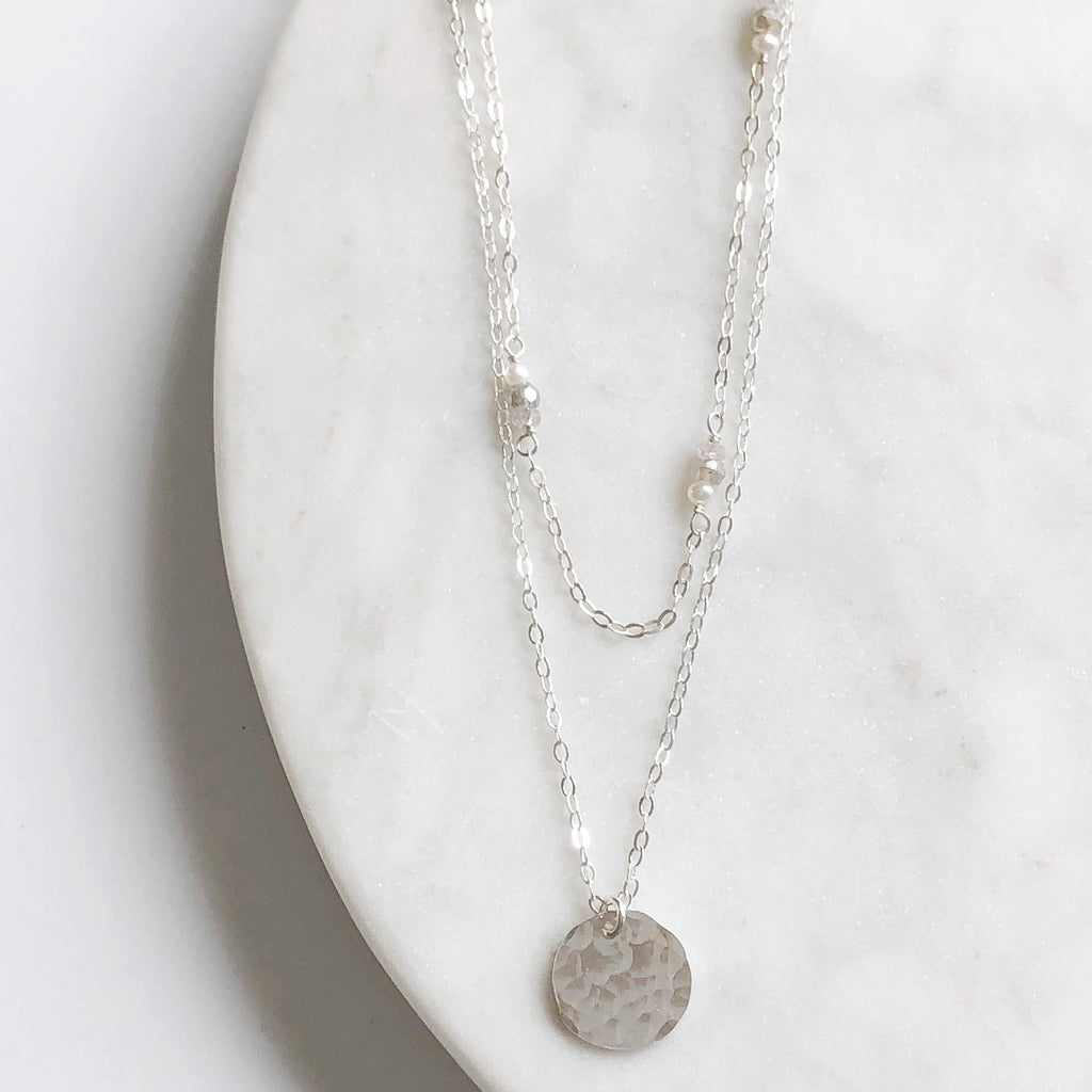 Silver Necklace Pairing