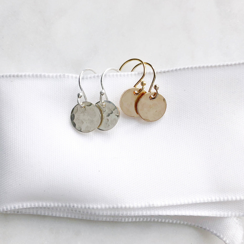 Everyday Hammered Earrings
