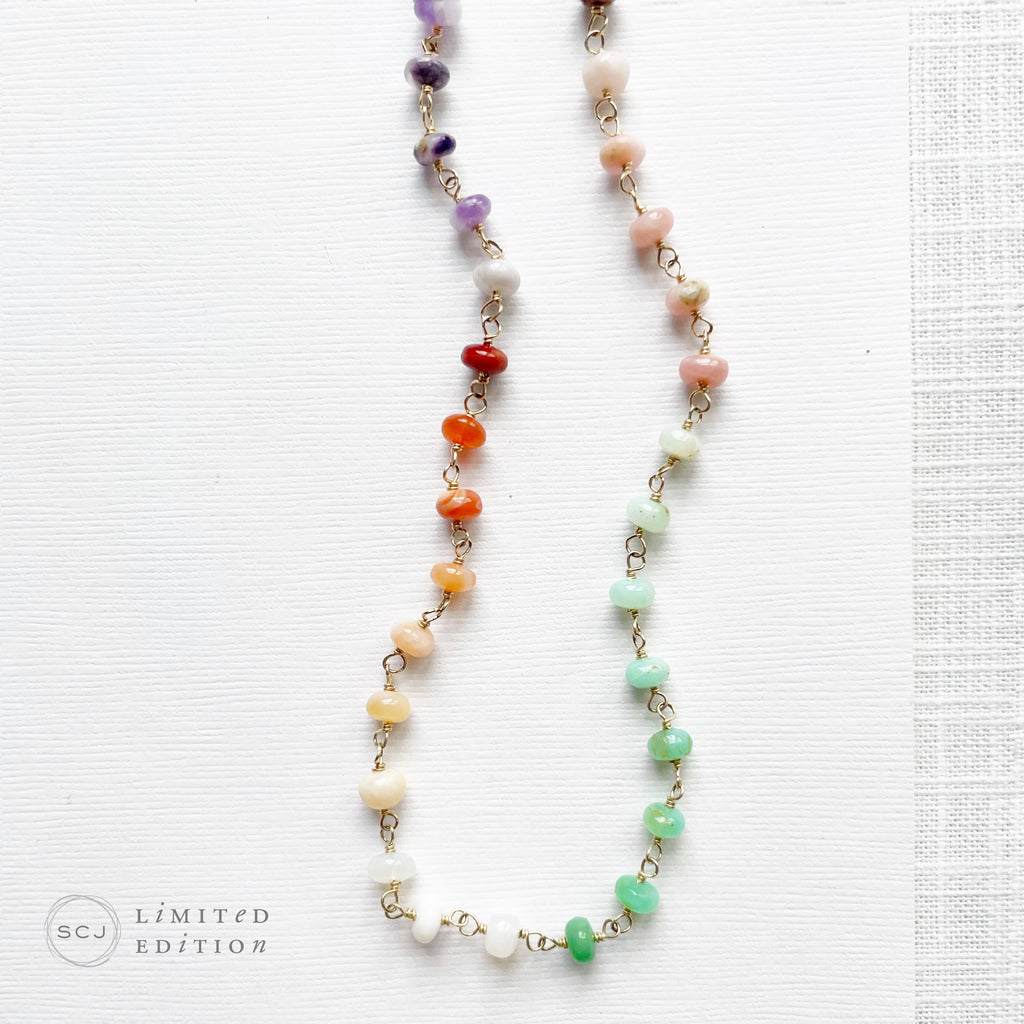 SALE, Sterling Silver Charm Necklaces