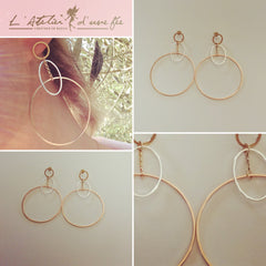 Boucles d'oreilles  Charly