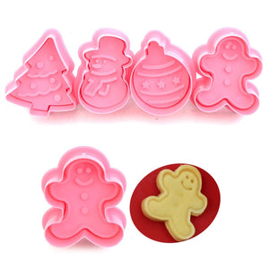 4pcs/set Four-shaped Cookie Cutter