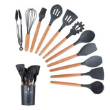 12pcs/set Silicone Tool and Storage Box