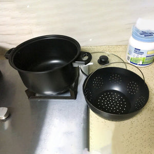 Pot 2-in-1 Non-stick Pot Drain Basket