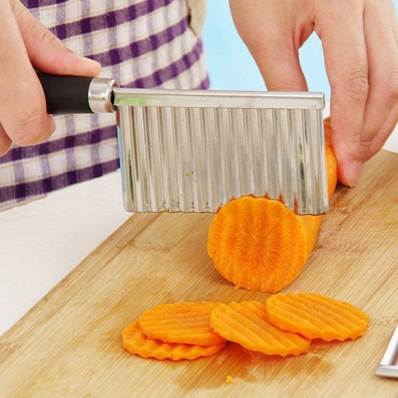 Multifunctional Potato Wavy Edge Knife