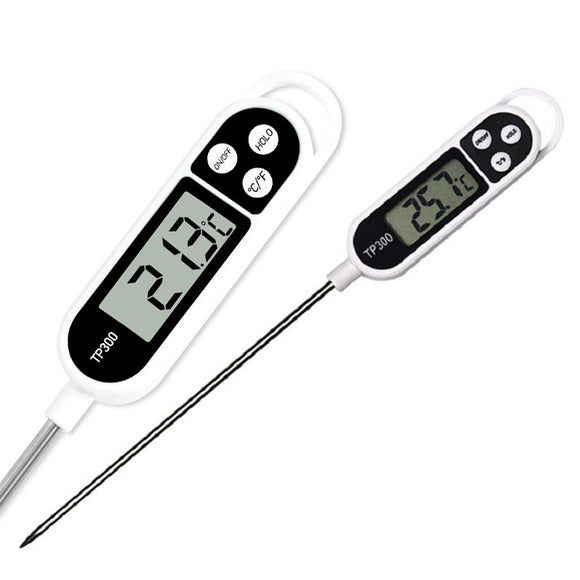Digital Food Thermometer Long Probe With Battery