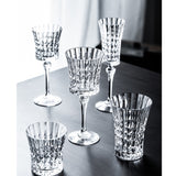 Europe Luxury Retro Carved Crystal Wine Glass Champagne Glasses goblet Brandy Cocktail Bar Party Hotel Home Drinking Ware