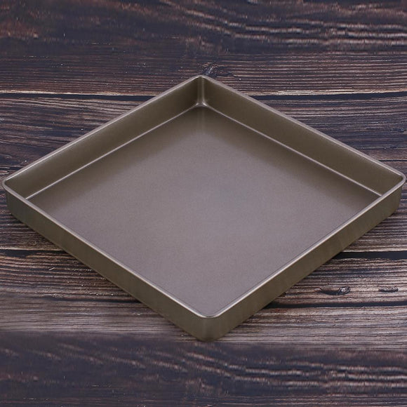 Non-Stick 11 Inch Square Cake Baking Pan Carbon Steel Tray Pie Pizza Bread Cake Mold Bakeware Tools
