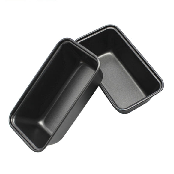 NEW Rectangle Toast Bread Mold Loaf Pan Cake Mold Carbon Steel Baking Non-Stick Reusable Pan 1pc