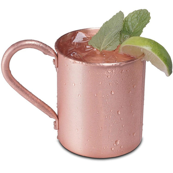 Moscow Mule Copper Mugs for Cold Beverage Cocktail Bar Cafe Kitchen Drink ware