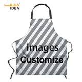 Sexy Naked 3D Print Kitchen Aprons Waterproof Cooking BBQ Apron for Women Men Home Cleaning Sleeveless Anti-oil Apron