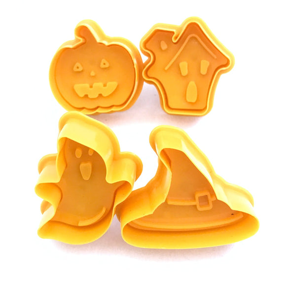 New 4pcs Halloween Cooke Cutter