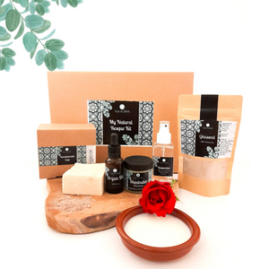 My Natural Resque kit: Dry skin