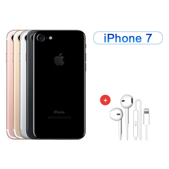 Value Package - Refurbished iPhone 7 ( 128GB ) + Accessories