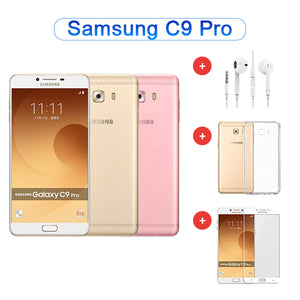 Value Package - Refurbished Samsung C9 Pro Dual Sim 64GB Model C9000 + Accessories