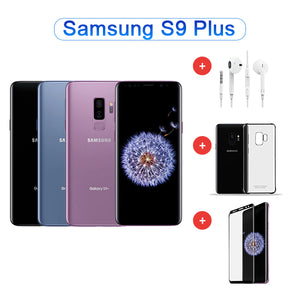 Value Package - Refurbished Samsung Galaxy S9+ 64GB Single Sim ( Blue / Black / Purple ) + Accessories