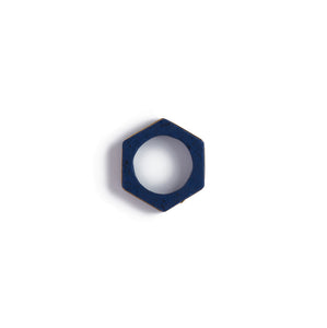Arabian Blue Cog Ring