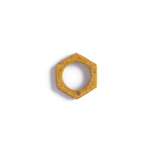 Load image into Gallery viewer, Mustard Cog Ring
