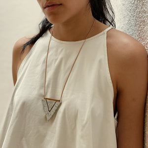 Ivory/ Grey Valley Necklace