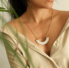 Load image into Gallery viewer, Ivory Halfmoon Necklace