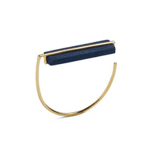 Load image into Gallery viewer, Arabian Blue Plank Bangle