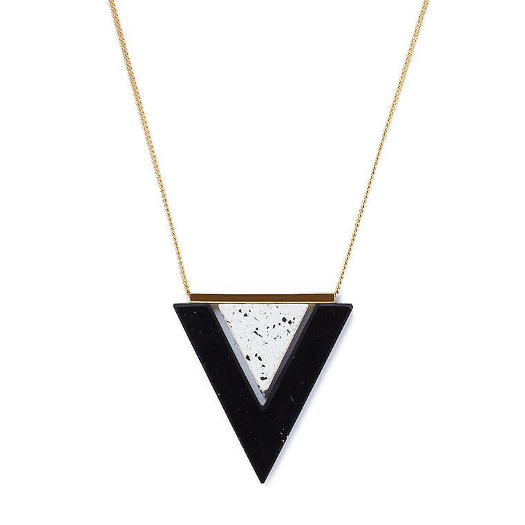 Ebony/Ivory Valley necklace