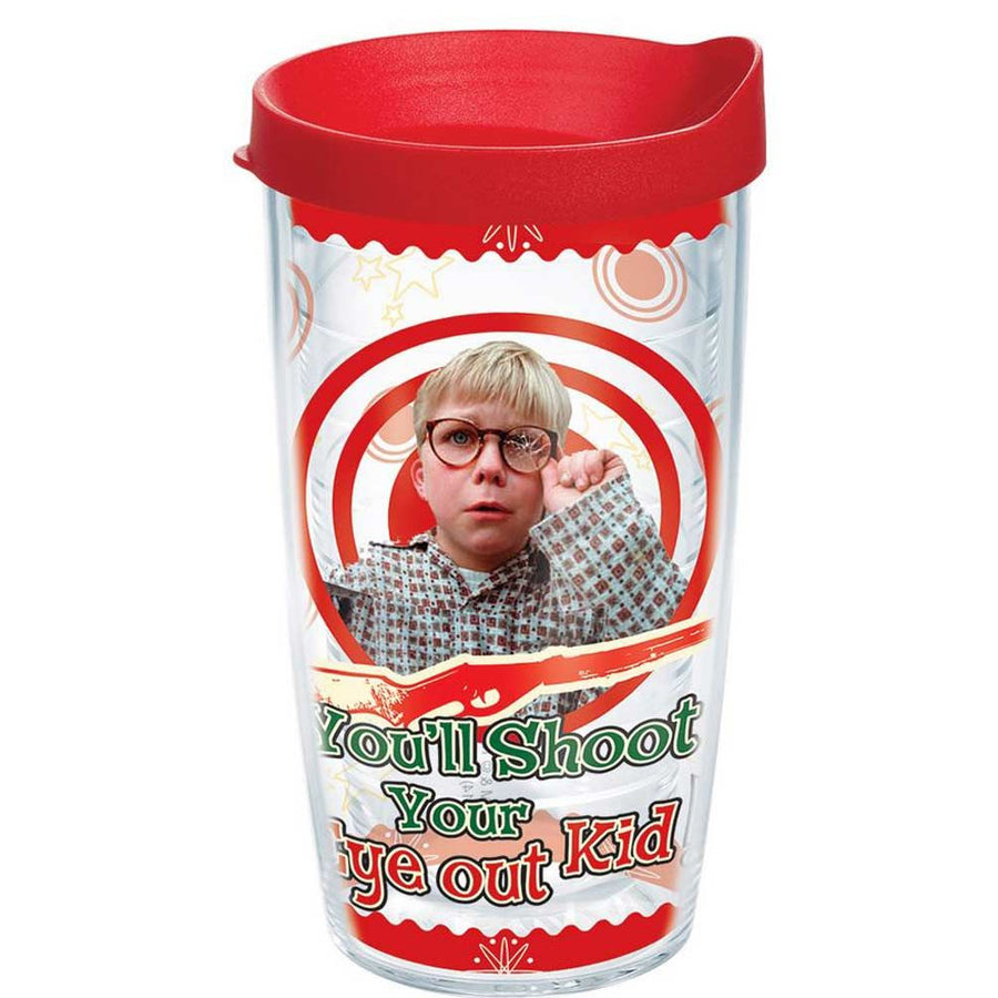 Shoot Your Eye Out 16oz Tervis Tumbler from A Christmas Story