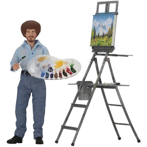 "Bob Ross 8"" Figure from The Joys of Painting"