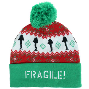 Fragile Leg Lamp Beanie Cap from A Christmas Story