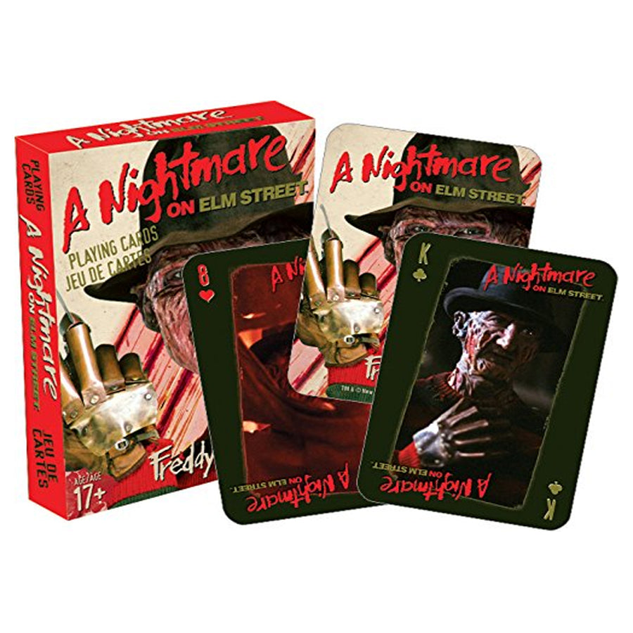 A Nightmare on Elm Street Playing Cards