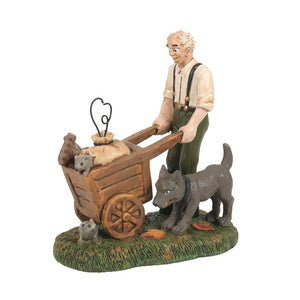 Rat Catcher From Dept 56 Halloween Snow Village