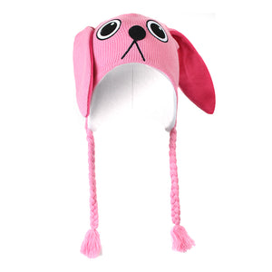 Pink Nightmare Laplander Hat from A Christmas Story
